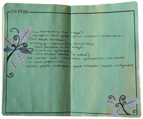 2009 - my journal